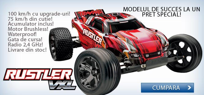 Masinuta telecomandata Traxxas Rustler Xl-5