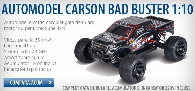 Masinuta teleghidata Carson Bad Buster 4x4