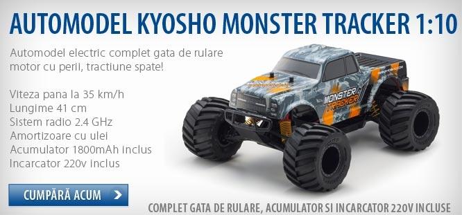 Masinuta telecomanda Kyosho Monster Tracker