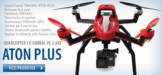 Drona gata de zbor TRAXXAS ATON PLUS